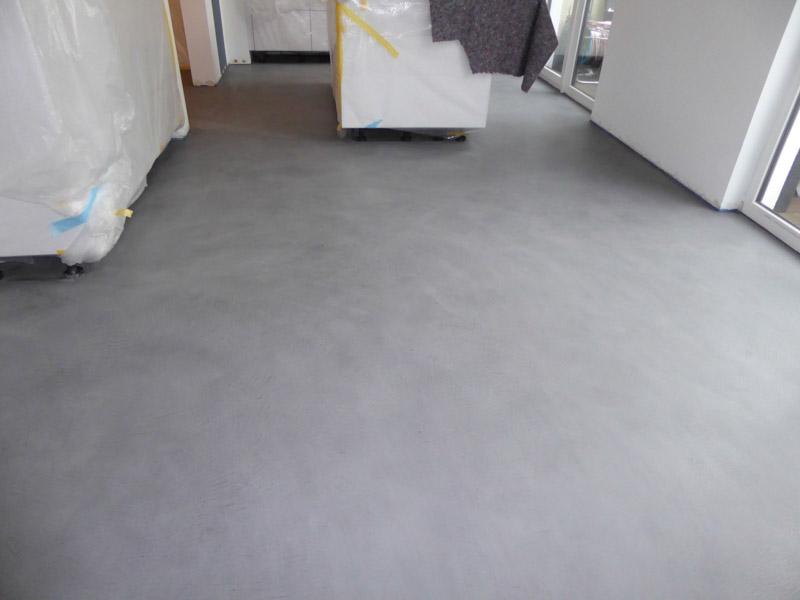 Fußboden Küche Betonoptik ~ Beton floor beton cire